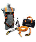 Safety Fall Combat Complete Roofers Kit With 25 Or 50 Lifeline