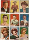 1953 Topps Who-z-at Star Trading Cards 16