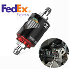 1x Motorcycle Magnetic Oil Fuel Filter With Accessories Kit Removal Impurities