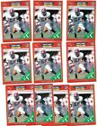 10 Card CT Player Lot all 1989 Pro Set Derrick Thomas Rookies RC 498