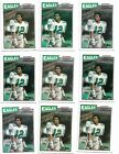 9 Card CT Player Lot all 1987 Topps Randall Cunningham Rookies RC 296