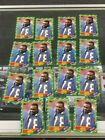 15 Card CT Player Lot all 1986 Topps Bruce Smith 389 Rookies RC