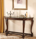 Signature Design By Ashley Norcastle Brown Sofa  Console Table NEW