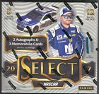 2017 Panini Select NASCAR Racing Sealed Hobby Box 12 packs 2 Auto, 3 Memorabilia