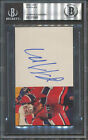 Patrick Roy Signed Index Card Beckett Authentic Autograph *0985