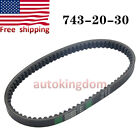 743 20 30 Drive Belt For Chinese Scooter Motorcycle GY6 125cc Moped Engine USA
