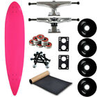 Moose Longboard Complete 9 x 43 Pintail Neon Pink Easy and Fun to Build
