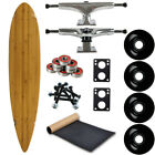 Moose Longboard Complete 9 x 43 Pintail Bamboo Easy and Fun to Build