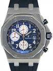 Audemars Piguet Royal Oak Offshore Steel Navy Blue Watch 26470ST.OO.A027CA.01