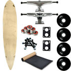 Moose Longboard Complete 9 x 46 Pintail Natural
