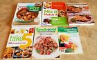WEIGHT WATCHERS BOOKS LOT OF 6 COMPLETE FOOD COMPANION +