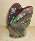 Fenton Glass Hand Painted Iridized Butterfly Fenton Convetion New Box