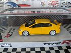 HOBBY JAPAN HONDA CIVIC TYPE R FD2 2007 SUNLIGHT YELLOW 164 SCALE