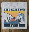 BEST HORSE DAD EVER T Shirt Shirt Free shipping