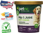 GLUCOSAMINE CHONDROITIN MSM FOR DOGS Support Hip and Joint Health 90 Soft Chews