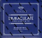 2016 17 PANINI IMMACULATE COLLEGIATE BASKETBALL HOBBY 5 BOX CASE