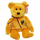 TY Beanie Baby - PRINZ VON GOLD the Bear (Germany Exclusive) (8.5 inch) - MWMTs