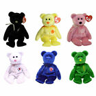 TY Beanie Babies - ASIA PACIFIC 2002 Exclusive Bears (Set of 6 - Ferny, Wattlie+