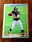 DREW BREES ROOKIE CARD 2001 TOPPS #328 1ST TO EVER THROW 80,000+ YARDS