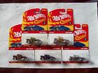 2006 Hot Wheels Classics Series 3 Bone Shaker Car Set in all 5 Carded Colors
