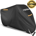 Favoto Motorcycle Cover All Season Universal Weather Waterproof Vehicle Cover
