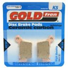 Rear Disc Brake Pads for KTM 400 EXC Racing 2007 398cc  By GOLDfren