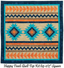 Happy trails Southwestern Quilt Kit 69 1 2 Square Fabrics by Northcott