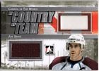 2011-12 Canada vs The World My Country My Team Silver #MCMT13 JOE SAKIC Jersey
