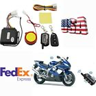 US Shipping Motorcycle 2 Way Anti-theft Alarm 125dB Remote Control Engine Start