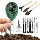 Namotu Soil Moisture Meter with 9 Pcs Gardening Bonsai Tool Sets 3 in 1
