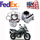 US Shipping 52mm Cylinder Piston Pin Kit For GY6 125cc Stroke Scooter Moped