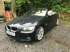 LARGER PHOTOS: 2008 BMW 320i AUTO M SPORT CONVERTIBLE BLACK NON RUNNER SPARES OR REPAIR