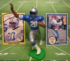1990  BARRY SANDERS Starting Lineup Football Figure & Cards - DETROIT LIONS