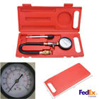 Motor Auto Petrol Gas Engine Cylinder Compression Tester Pressure Gauge Tool Kit