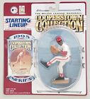 STARTING LINEUP COOPERSTOWN COLLECTION BOB GIBSON ST. LOUIS CARDINALS + CARD