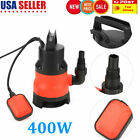 400W Electric Submersible Water Pump Swimming Pool Dirty Flood Sump Pump NEW