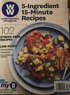 WW Weight Watchers Reimagined 5 Ingredient 15 Minute Recipes Brand New 2020