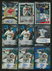17 VARIOUS PRODUCTS BASEBALL AUTOGRAPH CARD LOT