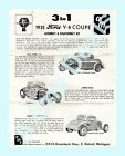 Lot 1255 is an AMT Assembly Instruction for a 1932 Ford V-8 Coupe From Kit # 232