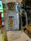 Aofmee 68 oz Glass Heat resistant Water Jug Pitcher for Hot Cold Water Ice Tea