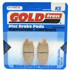 Front Disc Brake Pads for Adly Silver Fox 50 2001 50cc  By GOLDfren