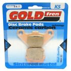 Front Disc Brake Pads for Hyosung Supercab 50 2004 50cc  By GOLDfren