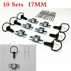 10 Sets 1/4 Turn Quick Release Race Fairing Fasteners Universal For Motorcycle