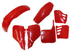 88 CR 125 250 Body Plastic Side Cover Fairing Kit Cherry Fighting Red for Honda