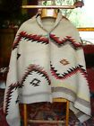 Navajo Child or Long Double Saddle Blanket Native American Weaving Rug Runner