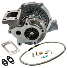 63 A R Stage III T04E T3 T4 44 Trim Compressor Turbo charger+Oil Feed Line Kit