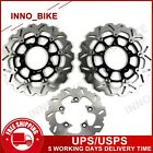 For Suzuki GSXR600 GSXR750 2006 2007 GSX-R 600 750 Front Rear Brake Disc Rotors