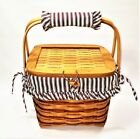 Longaberger 1996 Sweetheart Remembrance Basket Combo-Red Weave