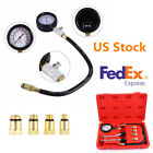 Portable Car Petrol Engine Cylinder Compression Gauge Diagnostic Tester Tool Kit