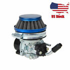 Carburetor Air Filter For 2 stroke 49cc 66cc 70cc 80cc Motorized Motor Engine US